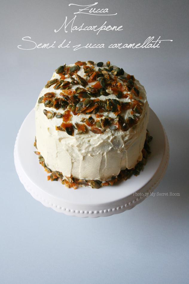 sponge cake zucca e mascarpone 2