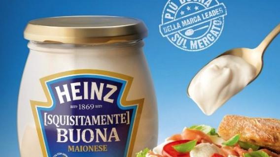 SQUISITAMENTE BUONA ARRIVA IN ITALIA LA MAIONESE HEINZ