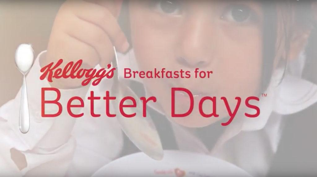 Kellogg's e Croce Rossa: Breakfast Club a Milano colazione assicurata ad ogni bimbo