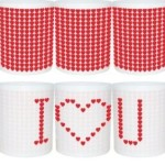 VENKON -Tazza sensibile al calore interattiva  - I LOVE YOU - € 20,00  su amazon