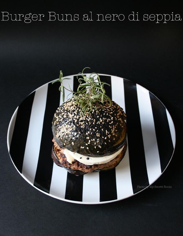 black burger buns 9