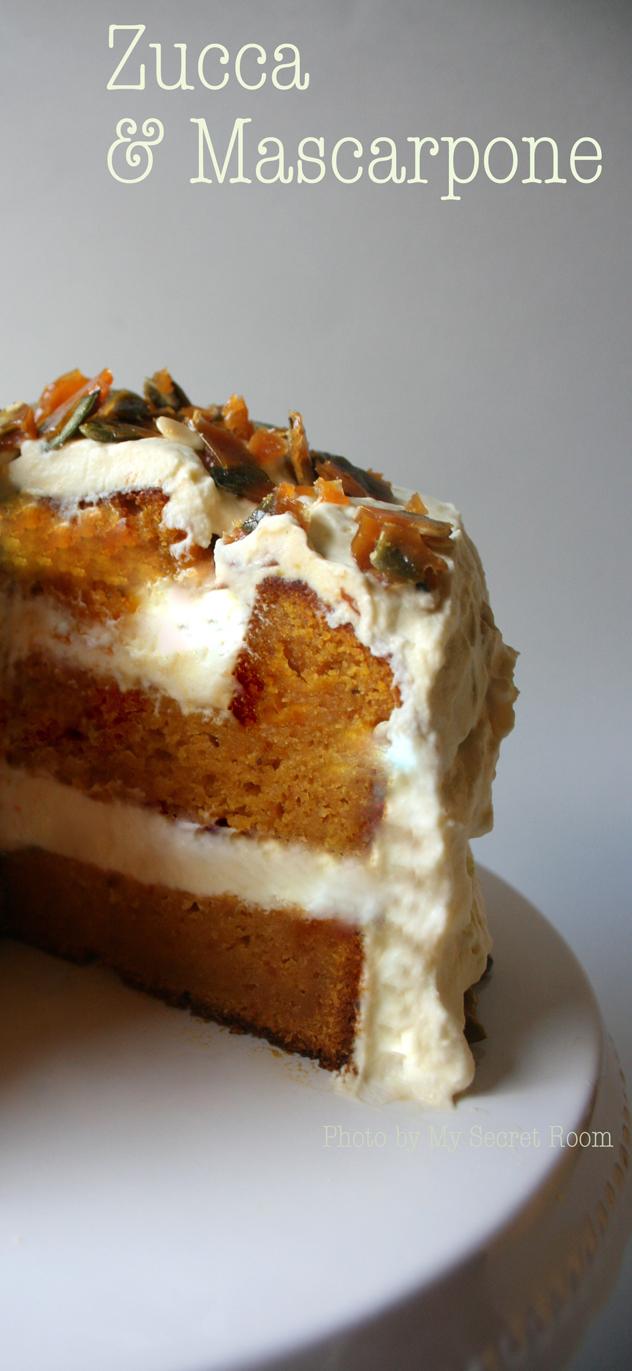sponge cake zucca e mascarpone 4