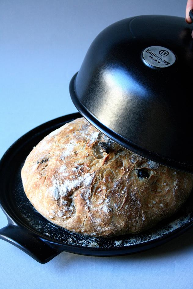 No Knead Bread pane senza impasto con le olive2