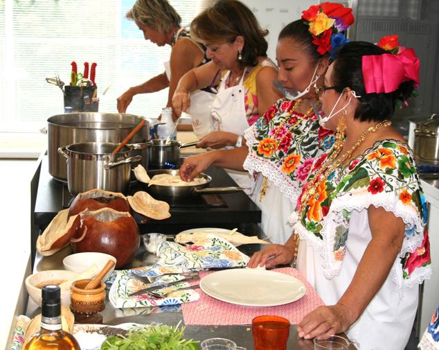 Cocineras e Cesarine a expo 2015 nella partita Messico-Italia vince il gusto