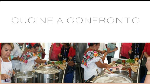 Cocineras e Cesarine a expo 2015 nella partita Messico-Italia vince il gusto3