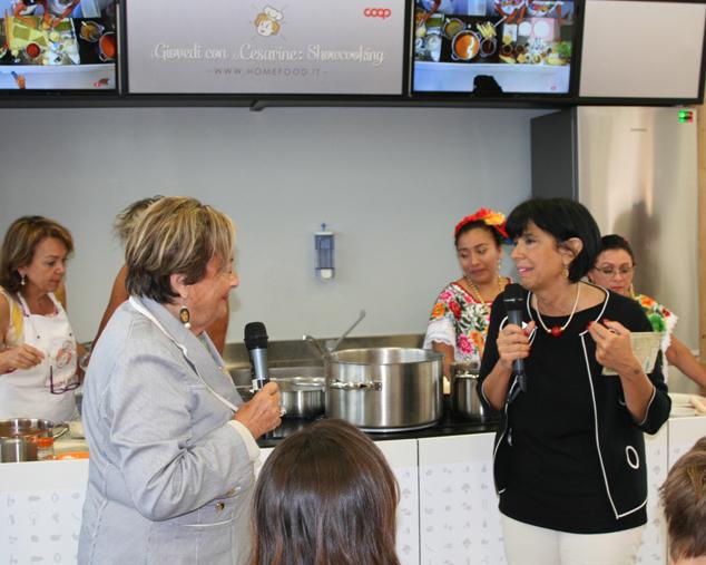 Cocineras e Cesarine a expo 2015 nella partita Messico-Italia vince il gusto4