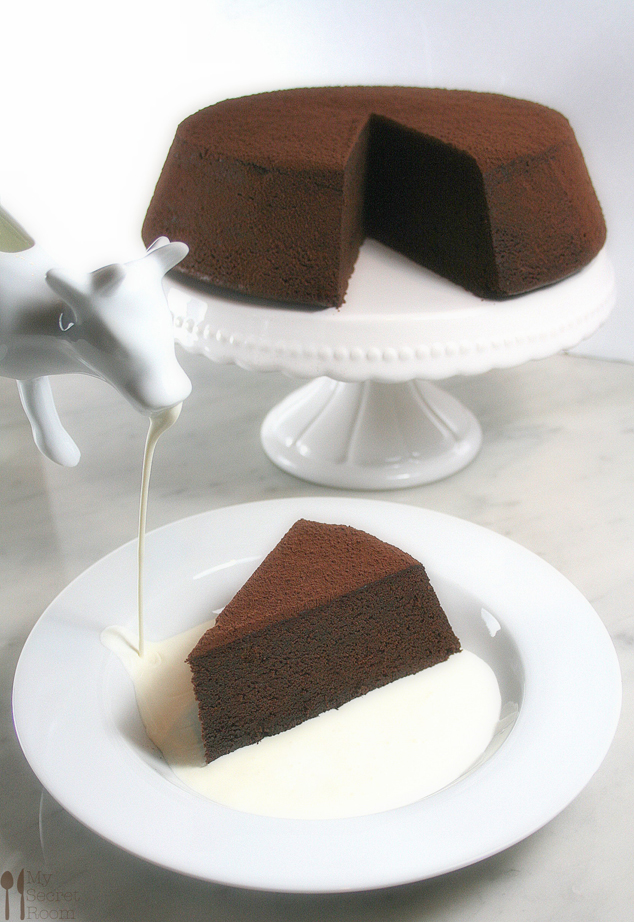 chocolate mud cake_ dal libro di Donna Hay