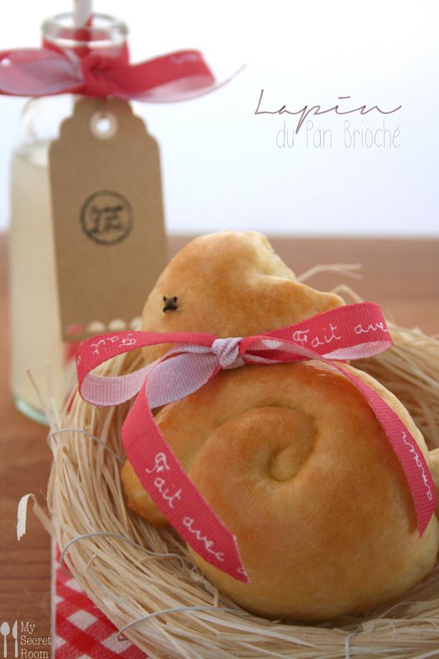 coniglietti pasquali di pan brioches