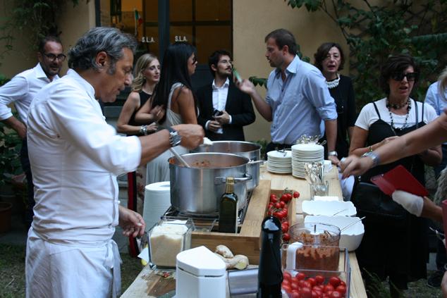a Milano con lo chef Filippo La Mantia e i pomodori Agromonte_29