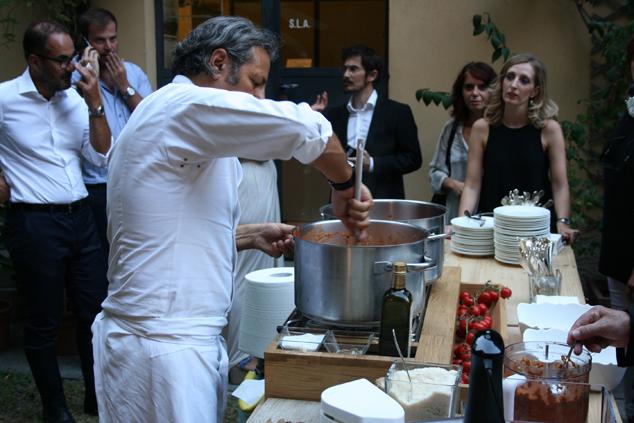 a Milano con lo chef Filippo La Mantia e i pomodori Agromonte_31