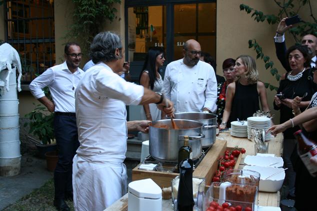 a Milano con lo chef Filippo La Mantia e i pomodori Agromonte_32
