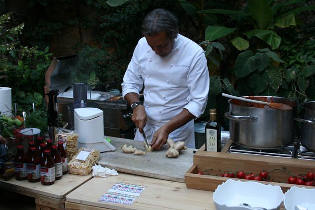 a Milano con lo chef Filippo La Mantia e i pomodori Agromonte_F
