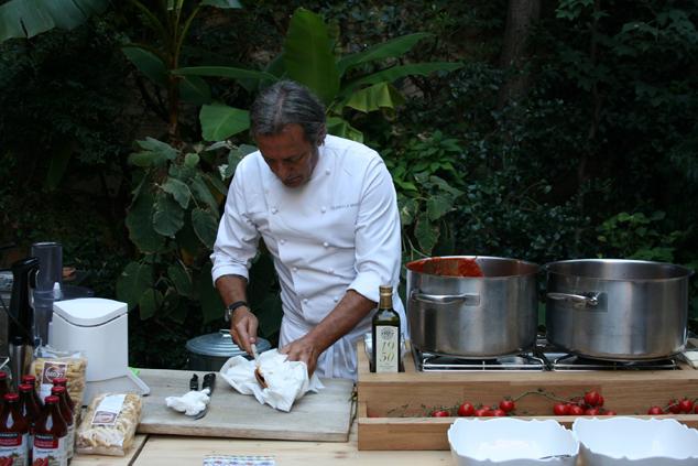 a Milano con lo chef Filippo La Mantia e i pomodori Agromonte_F1