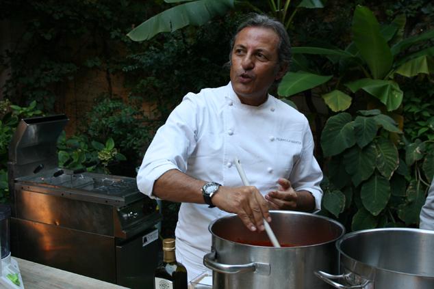a Milano con lo chef Filippo La Mantia e i pomodori Agromonte_F2