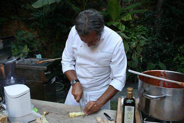 a Milano con lo chef Filippo La Mantia e i pomodori Agromonte_F6