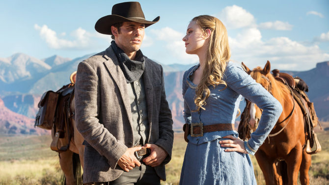 Westworld - Dolores e Ted