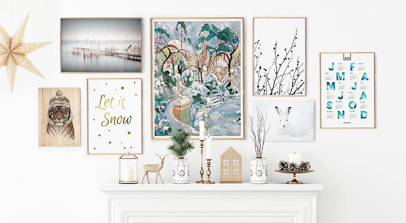 Posterlounge 3 consigli per arredare casa con quadri e poster - Consigli per pitturare casa ...